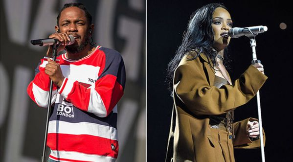 Kendrick Lamar Et Rihanna - Loyalty (video Shoot)