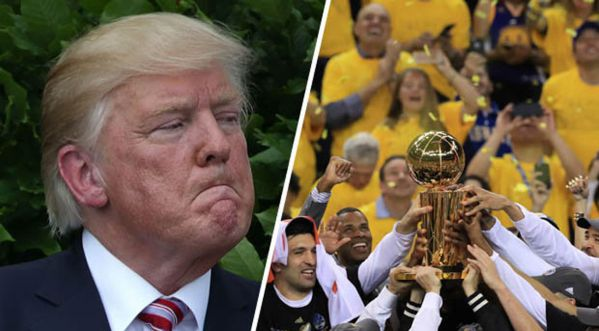 Les Champions Nba (golden State Warriors) Refusent De Rencontrer Le Président (donald Trump)