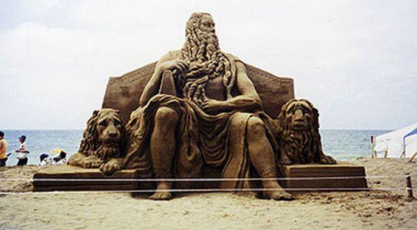 Le maître des châteaux de sable