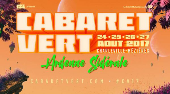 Le festival cabaret vert revient du 24 août au 27 août pour une 13eme édition