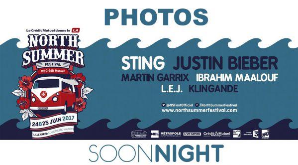 Revivez en image le North Summer Festival | Sting , Justin Bieber, Martin Garrix, ...