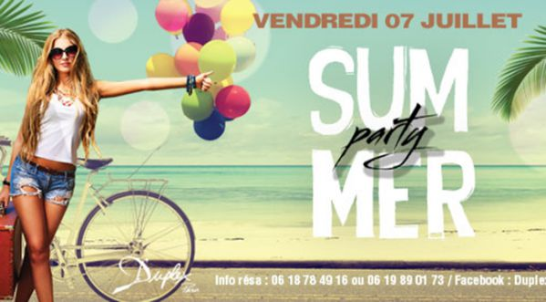 Summer Party - Opening Season Ce Vendredi !