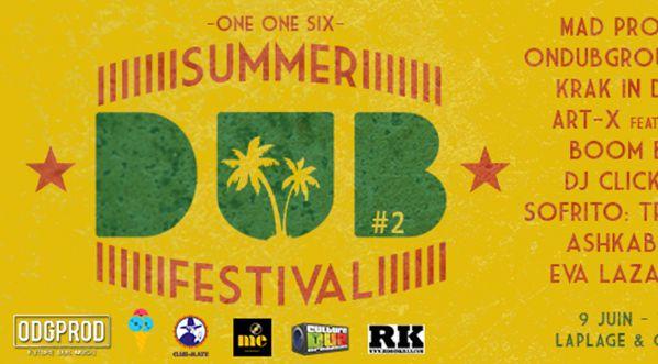 #concours ! Gagne Tes Places Pour Le Summer Dub Festival #2