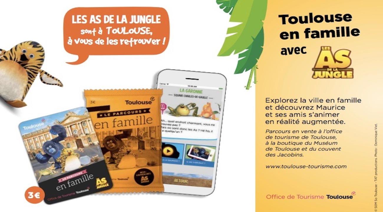 Un parcours touristique novateur à Toulouse avec les As de la Jungle