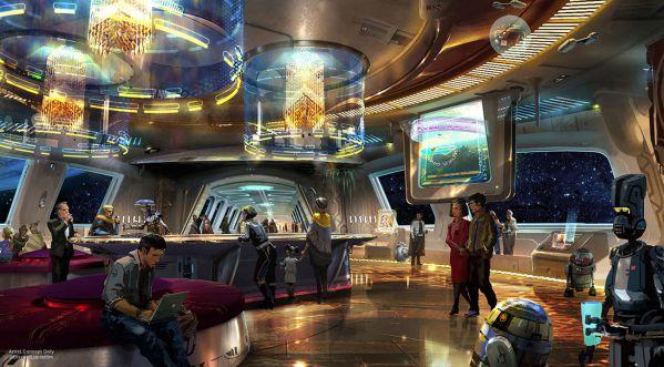 Disney va ouvrir un hôtel s'inspirant de l'univers de Stars Wars dans son parc d'attraction