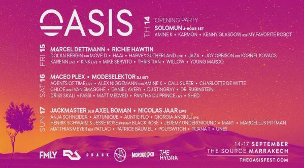 Le Festival Marocain Oasis Met La Touche Finale à Son édition 2017