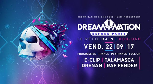 La Before Party du festival Dream Nation se déroulera le vendredi 22/09 au Petit Bain !