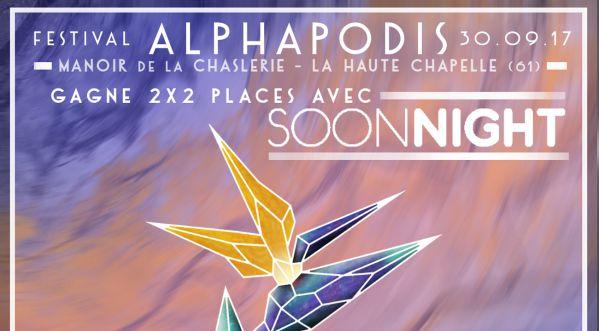 Gagnes Tes Places Pour Le Festival Alphapodis 2017 Et Soutiens La Lutte Contre Le Cancer Du Sein