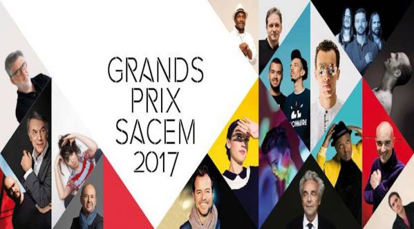 Les Grands Prix de la Sacem 2017 dévoilés, qui sont les heureux élus ?