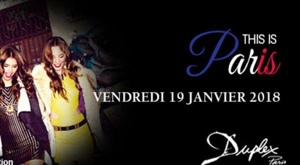 This is Paris au Duplex ce vendredi !
