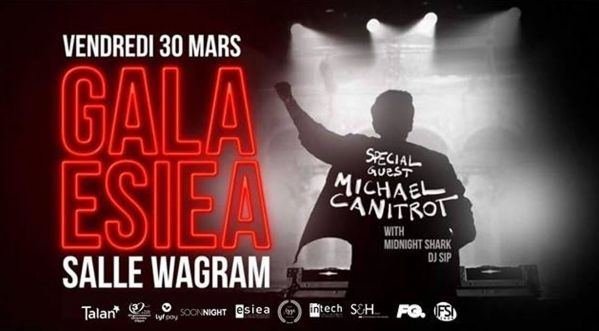 Gala Esiea 2018 Avec Michael Canitrot