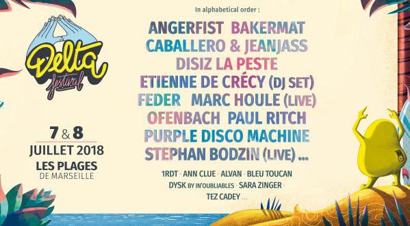 Le Delta Festival Revient Pour Sa 4ème édition Les 7 & 8 Juillet 2018