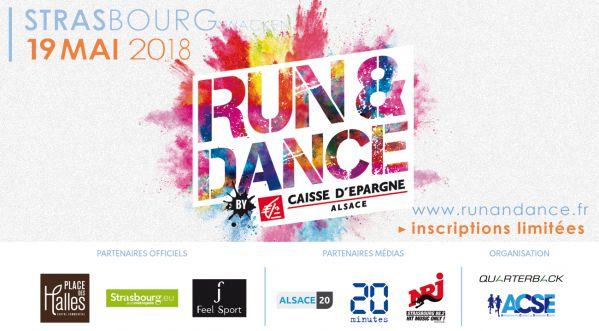 SoonNight partenaire de la Run&Dance de Strasbourg le 19 mai prochain !