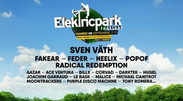Les premiers noms de l'Elektric Park Festival sont