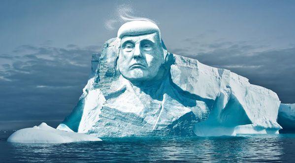 Le projet fou d'une ONG pour prouver à Donald Trump que le réchauffement climatique existe