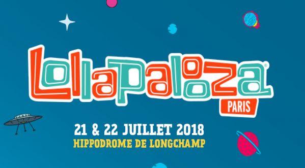 Lollapalooza Paris 2018 / Rendez-vous le 21 & 22 juillet à l'hippodrome de Longchamp