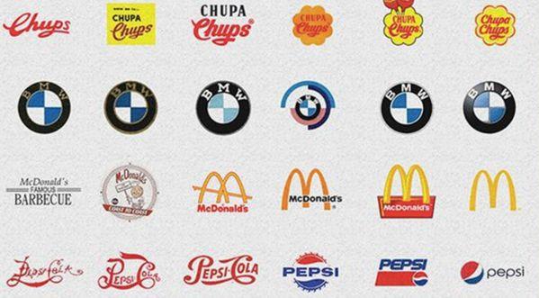 Vous souvenez-vous des logos d'avant ?