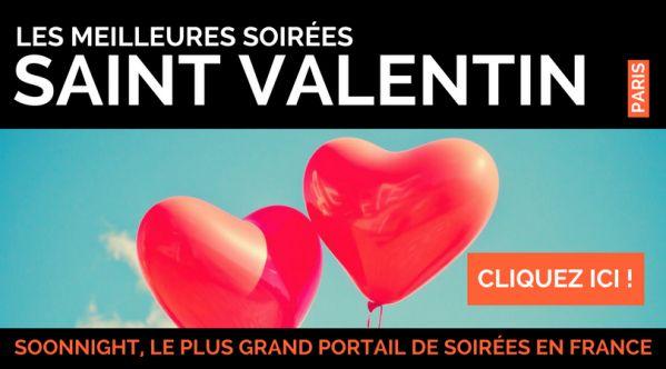 Saint Valentin Paris / Soirées Saint Valentin Paris