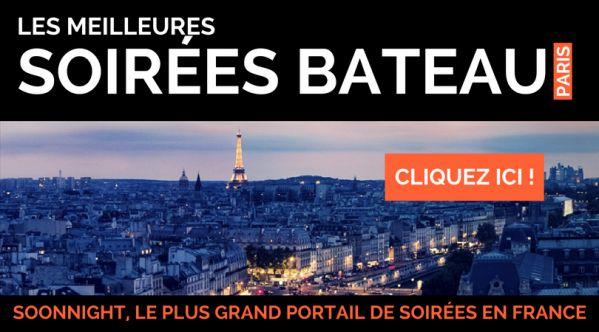 Soirées bateau Paris / Croisière Paris / Soirée péniche Paris