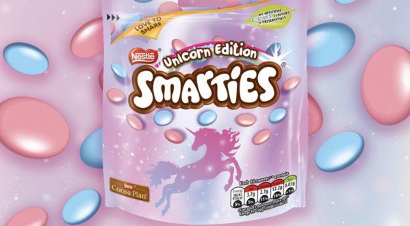 Les smarties licornes sont commercialisés, qui en veut ?