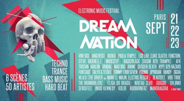 Dream Nation Festival revient pour cinquième édition du 21 au 23 septembre !