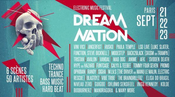 Dream Nation Festival Revient Pour Une Cinquième édition Du 21 Au 23 Septembre !