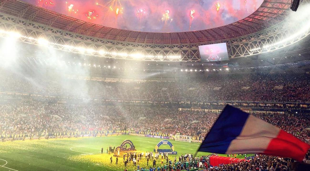 Coupe du monde un public de qualit pour une finale historique - Coupe du monde historique ...