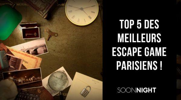 TOP 5 des meilleurs Escape Games à Paris