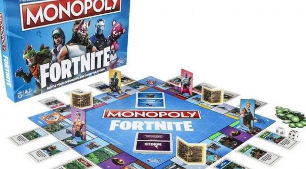 Noël 2018 : Monopoly sort une version Fortnite !