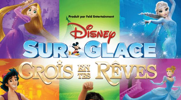 Disney sur glace : le spectacle familial incontournable !