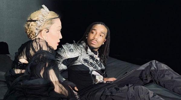 Madonna : L'artiste dévoile son dernier morceau avec Quavo