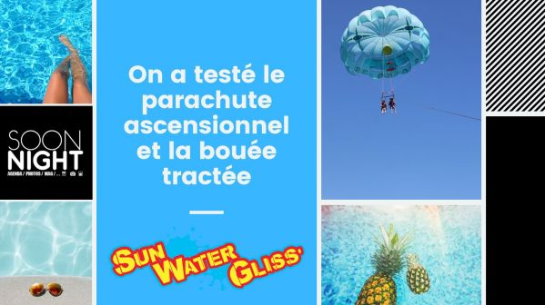 Sensations fortes garanties avec Sun Water Gliss (Palavas-les-Flots)