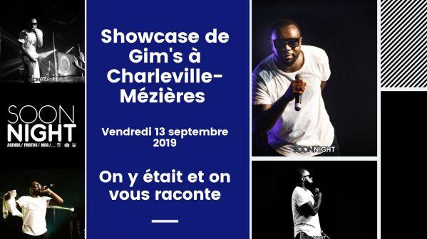 Showcase de Gim's à Charleville-Mézières : On y était et on vous raconte