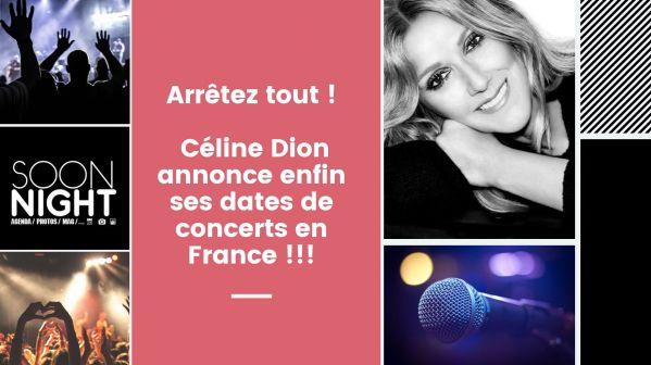 Arrêtez tout : Céline Dion annonce enfin ses dates de concerts en France !!!