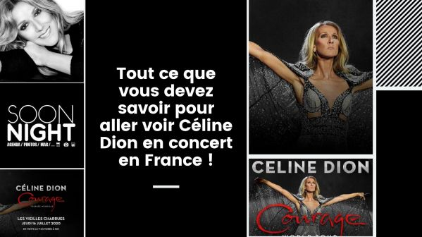 Tout ce que vous devez savoir pour aller voir Céline Dion en concert en France !