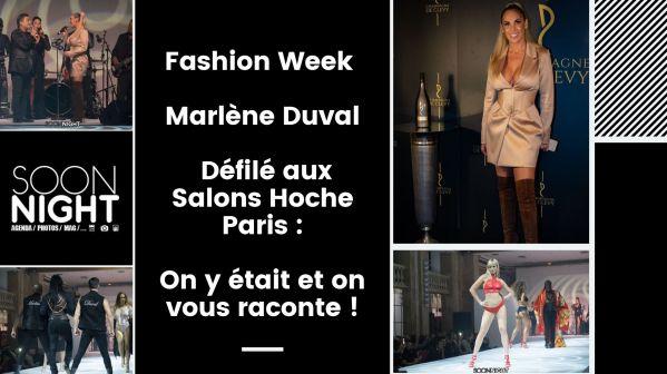 Fashion Week / Marlène Duval / Défilé aux Salons Hoche Paris : On y était et on vous raconte !