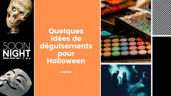 Quelques idées de déguisements pour Halloween