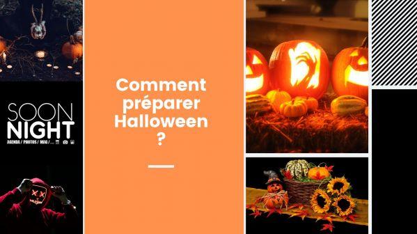 Comment préparer Halloween ?