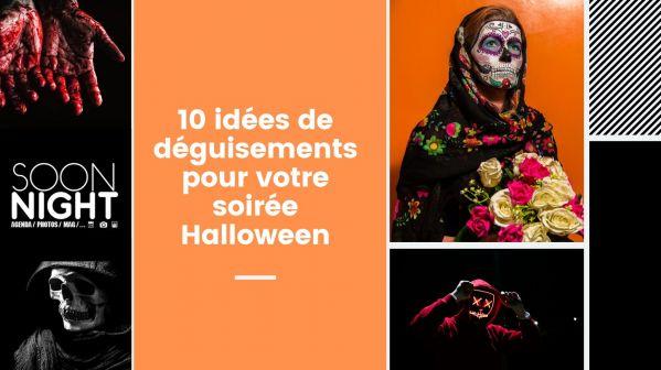 10 idées de déguisements pour votre soirée Halloween