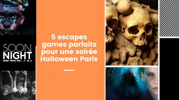 5 escapes games parfaits pour une soirée Halloween Paris