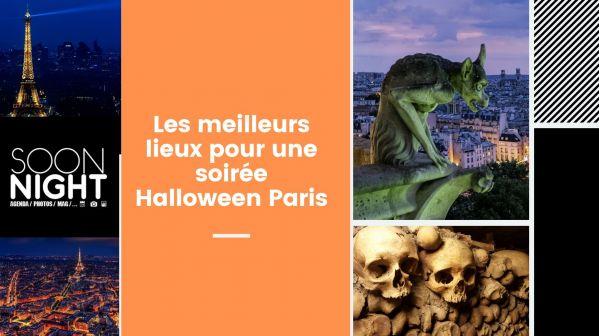 Les meilleurs lieux pour une soirée Halloween Paris