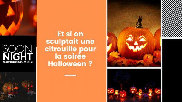 Et si on sculptait une citrouille pour la soirée Halloween ?