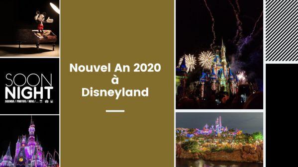 Nouvel An 2020 à Disneyland