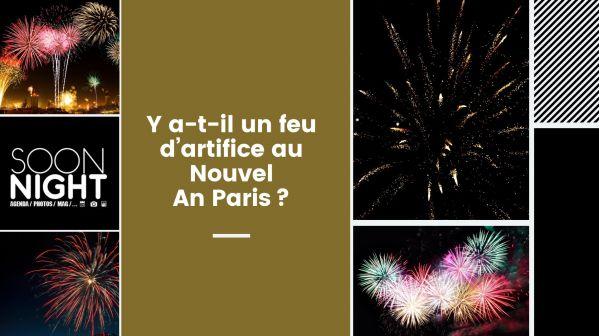 Y a-t-il un feu d'artifice au Nouvel An Paris?