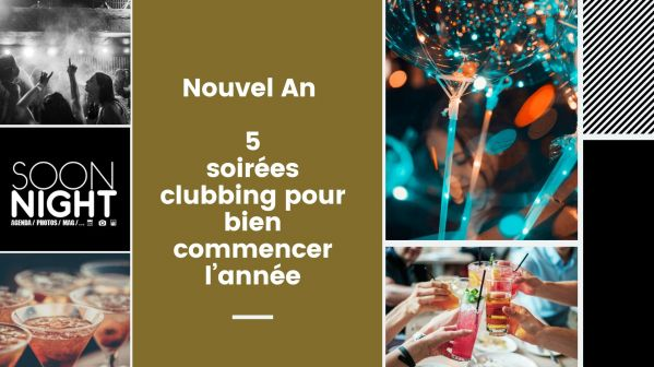 Nouvel An 2020 : 5 Soirées Clubbing Pour Bien Commencer L'année