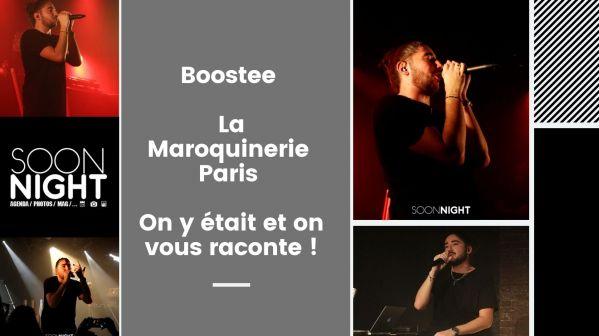 Boostee / La Maroquinerie / Paris : On y était et on vous raconte !