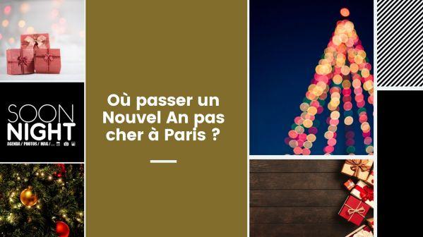 Où passer un Nouvel An pas cher à Paris ?