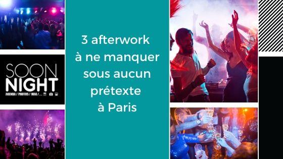 3 afterwork à ne manquer sous aucun prétexte à Paris
