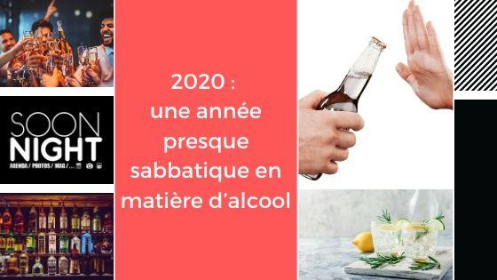 2020 : une année presque sabbatique en matière d'alcool