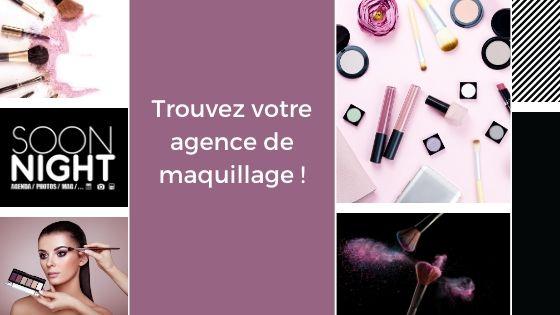 Trouvez votre agence de maquillage !
